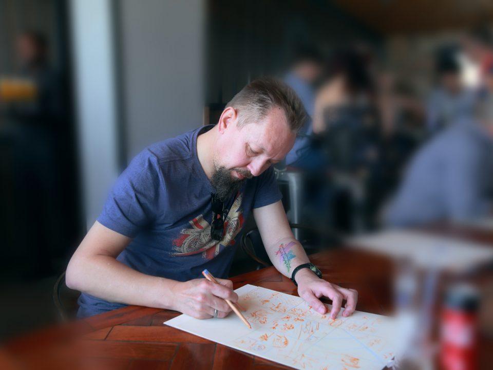 Interview: Andre van Wyk